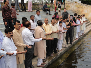 Taking-Oath-to-Save-River-Shiv-Ganga