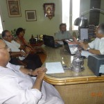 Meeting Central Rural Dev Minister
